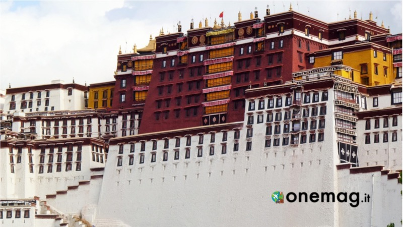 Cosa vedere a Lhasa, il palazzo Rosso del Palazzo del Potala