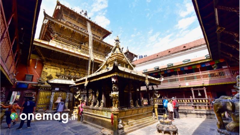 Cosa vedere a Patan, il Tempio d'Oro - Hiranya Varna Mahavihar