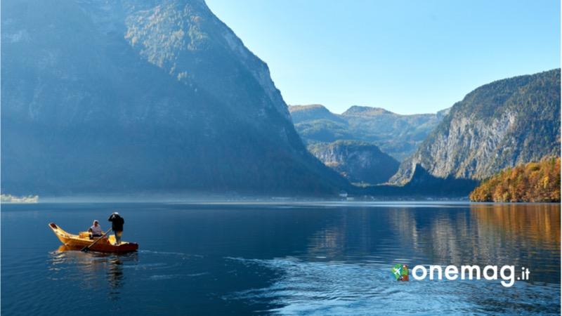 Salzkammergut, guida turistica del distretto dei laghi, lago di Hallstatt e monte Obertraun