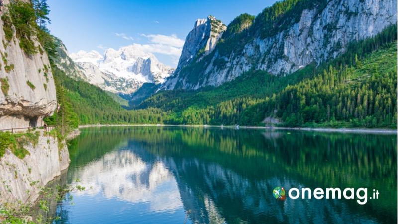 Visitare Salzkammergut, guida turistica del distretto dei laghi, lago Gausi