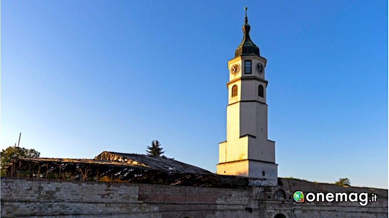 Cosa vedere a Belgrado, la Torre Sahat