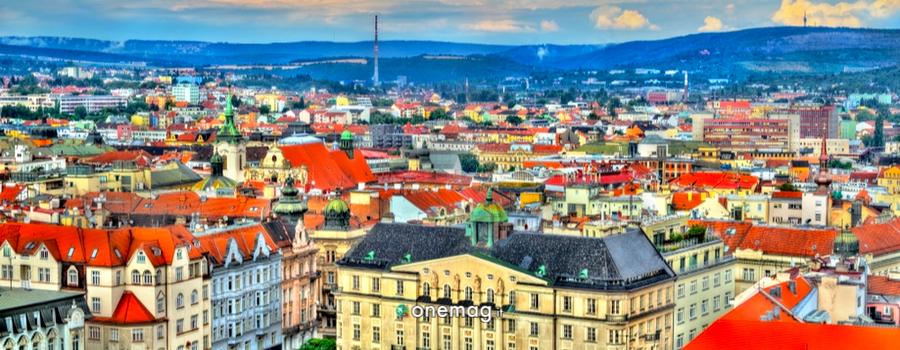 Cosa vedere a Brno, veduta panoramica