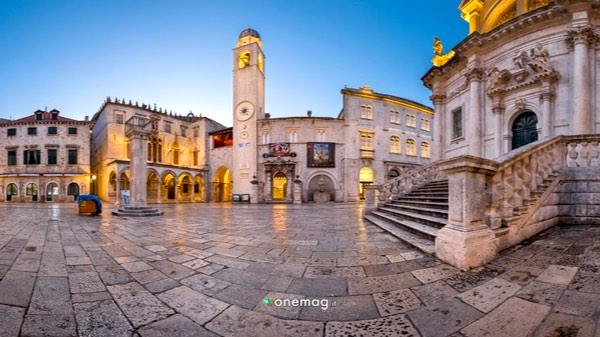 Cosa vedere a Dubrovnik, Piazza Luza