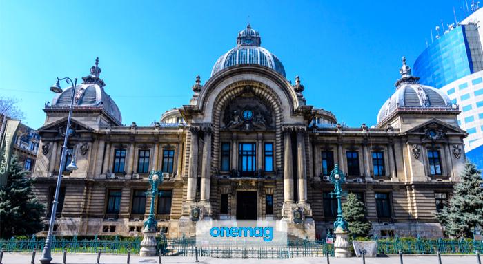 Cosa vedere a Bucarest, Palatul CEC