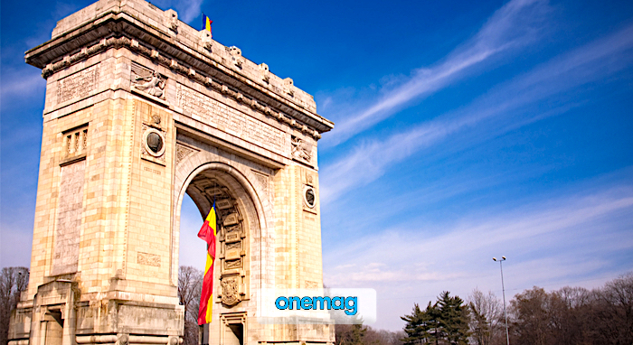 Cosa vedere a Bucarest, Arco di Trionfo