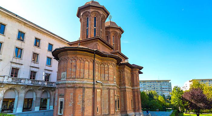 Cosa vedere a Bucarest, Chiesa Cretulescu