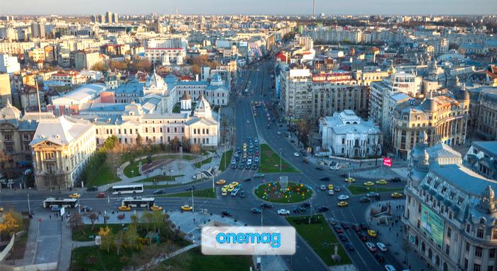 Cosa vedere a Bucarest, veduta aerea