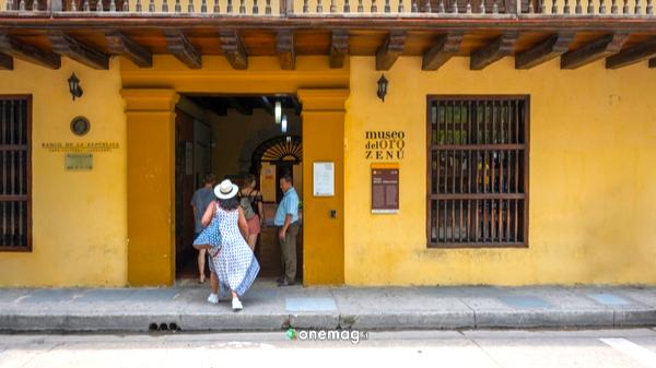 Cosa vedere a Cartagena de Indias, Museo dell'oro Zenu