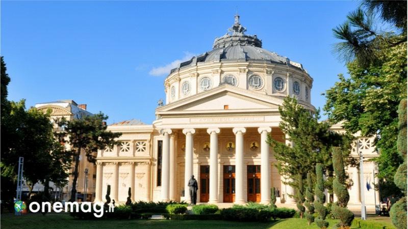 Cosa vedere a Bucarest, il palazzo Athenee