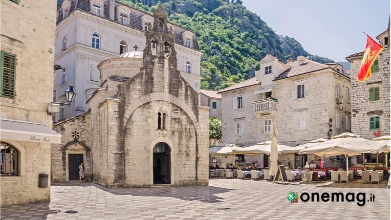 Cosa vedere a Cattaro, la chiesa di San Luca