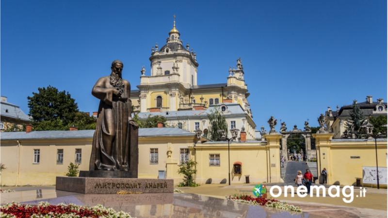 Cosa vedere a Leopoli in Ucraina, la cattedrale di San Giorgio