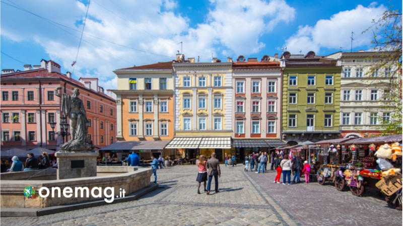 Cosa vedere a Leopoli in Ucraina, la Piazza del Mercato