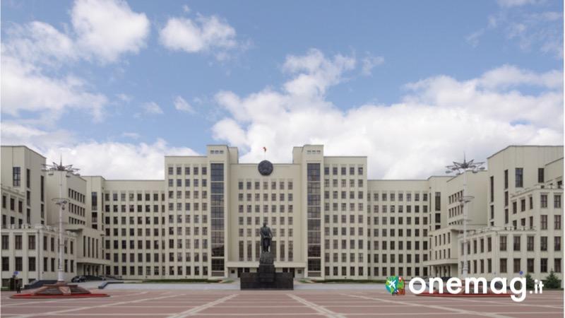 Cosa vedere a Minsk, il Palazzo del Governo