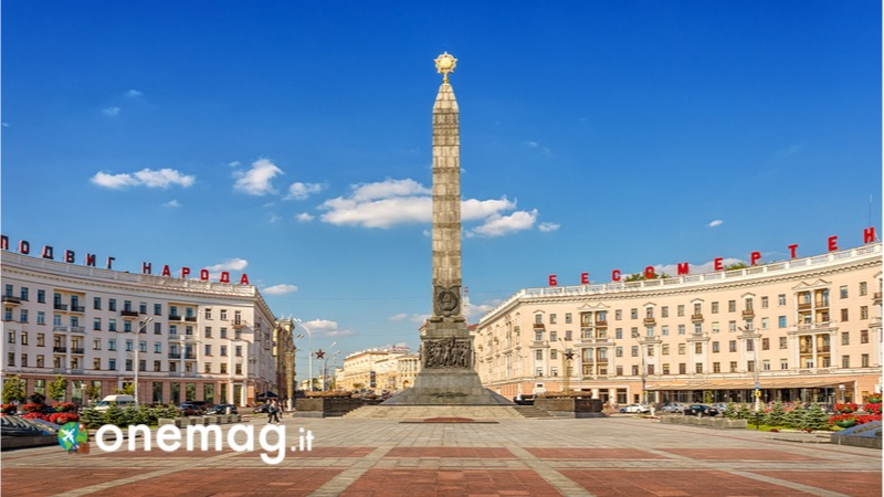 Cosa vedere a Minsk, la capitale della Bielorussia, Piazza della Vittoria