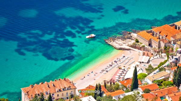 Cosa vedere a Dubrovnik, spiaggia di Banje