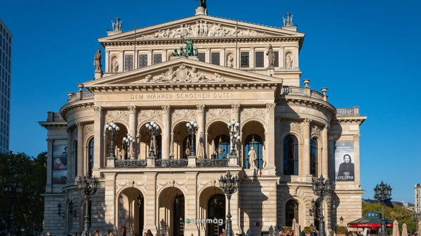 Cosa vedere a Francoforte, il Teatro dell'Opera