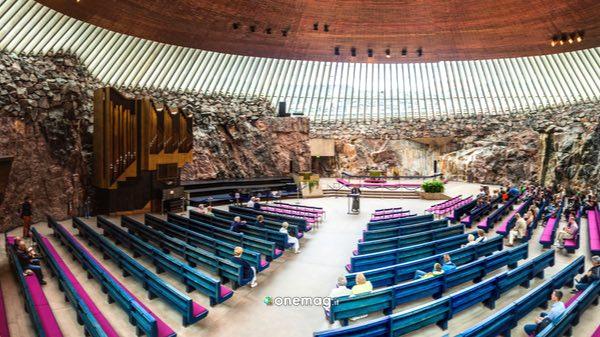 Cosa vedere a Helsinki, la chiesa nella roccia