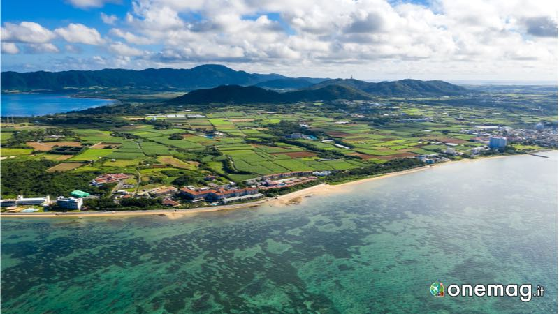 Isola Ishigaki vista dall'alto