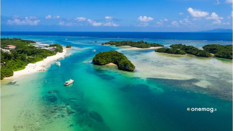 Cosa vedere all'isola di Ishigaka, la Baia di Kabira