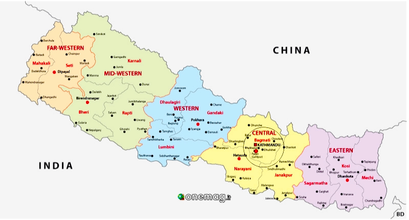 Cosa vedere a Patan, mappa