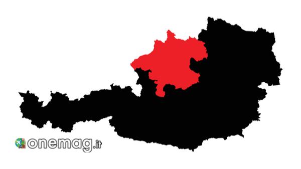Cosa vedere nel Salzkammergut, mappa
