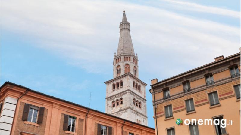 Cosa vedere a Modena, la Ghirlandina