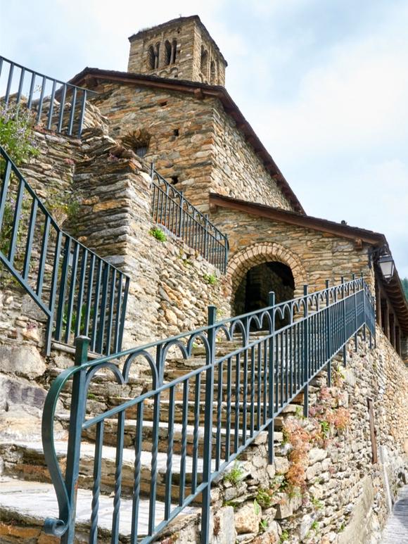 La Chiesa di San Climente de Pal, a Pal Andorra