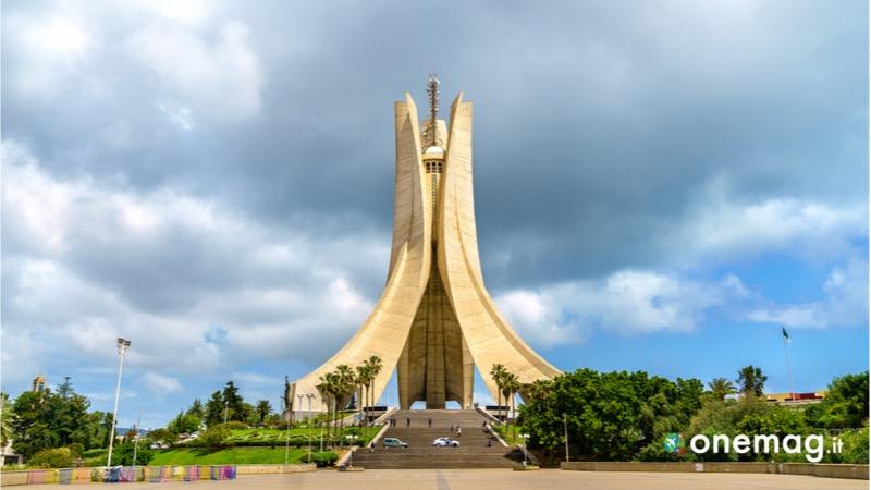 Cosa vedere in Algeri, Maqam Echahid, il Memoriale del martirio