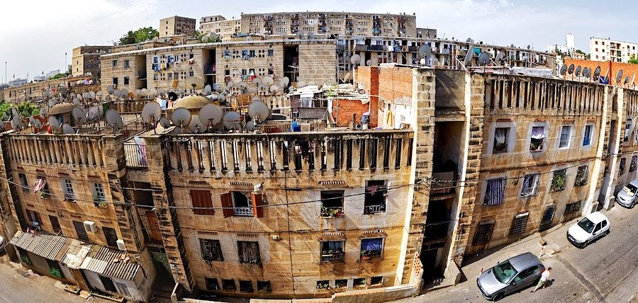 Cosa vedere ad Algeri, edificio residenziale