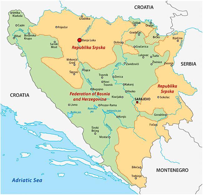 Cosa vedere a Banja Luka, Bosnia-Erzegovina