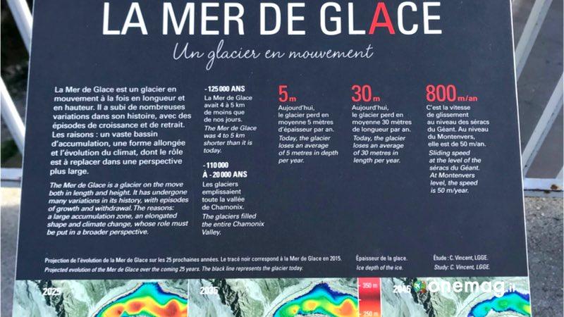 Cosa vedere a Chamonix. Mer de glace