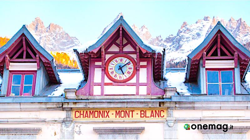 Cosa vedere a Chamonix, stazione ferroviaria