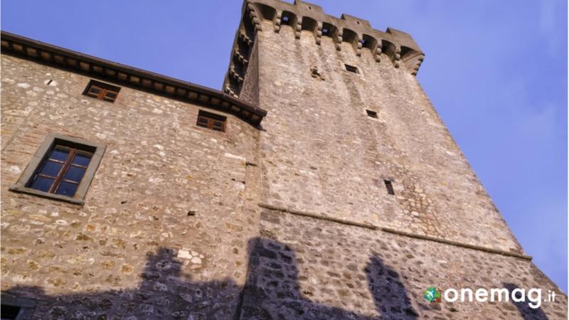 Cosa vedere a Caplbio, la Rocca Aldobrandesca