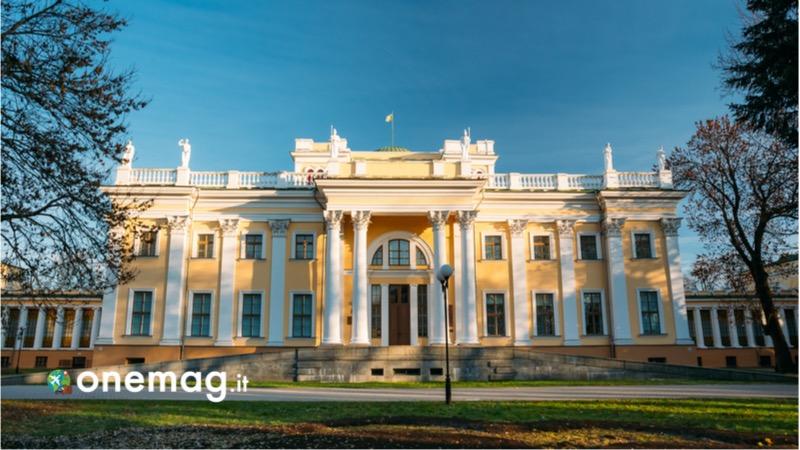 Cosa vedere a Gomel, il Palazzo Gomel, la residenza Rumyantsev-Paskevich