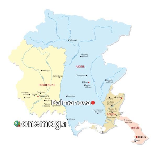 Mappa di Palmanova
