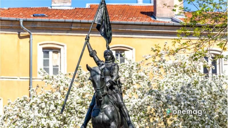 Nancy, statua di Giovanna d'Arco