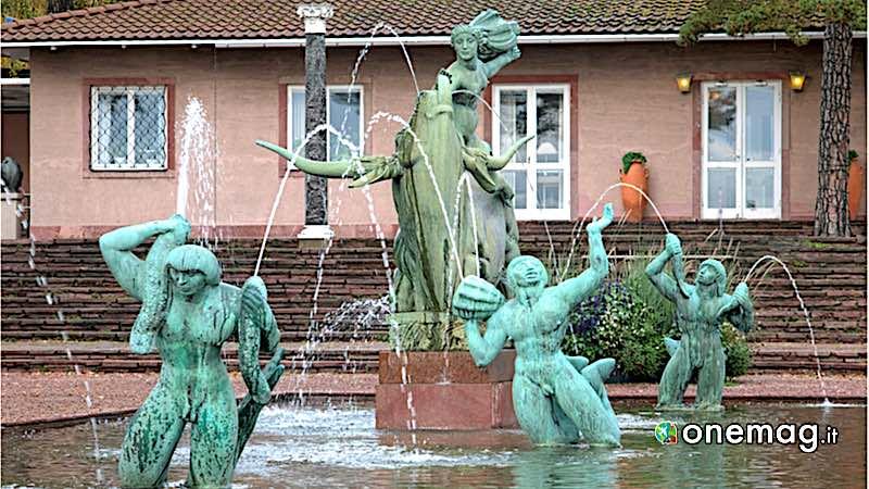 Halmstad, la fontana