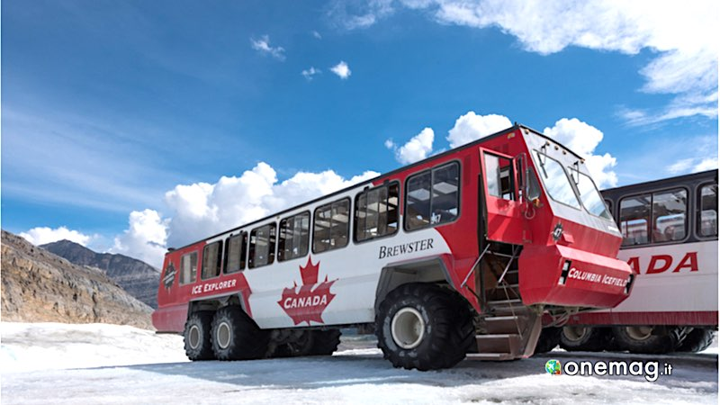 Banff National Park, bus invernale