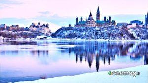 Canada, Ottawa in inverno