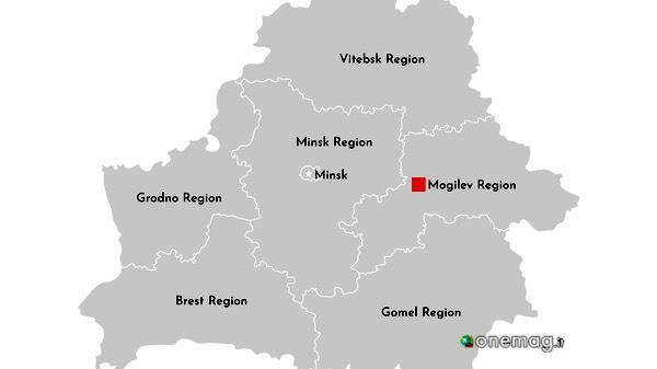 Cosa vedere a Mogilev, mappa