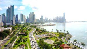 Panama, veduta della città