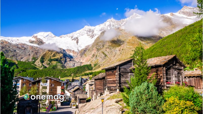 Cosa vedere a Saas Fee, panorama