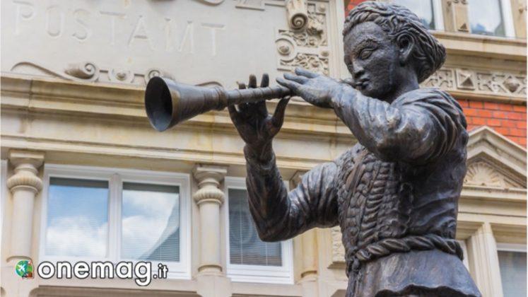 Statua del pifferaio magico