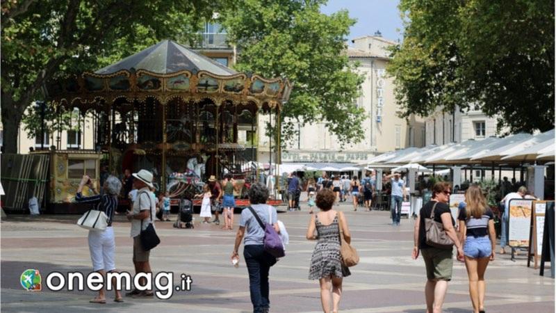 Place de l'Horloge, Avignone