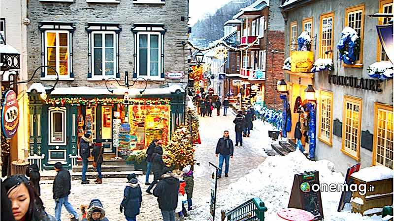 Quebec City, Rue du Petit-Champlain