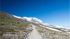 Percorsi per trekking nel Parco Nazionale Mount Rainer