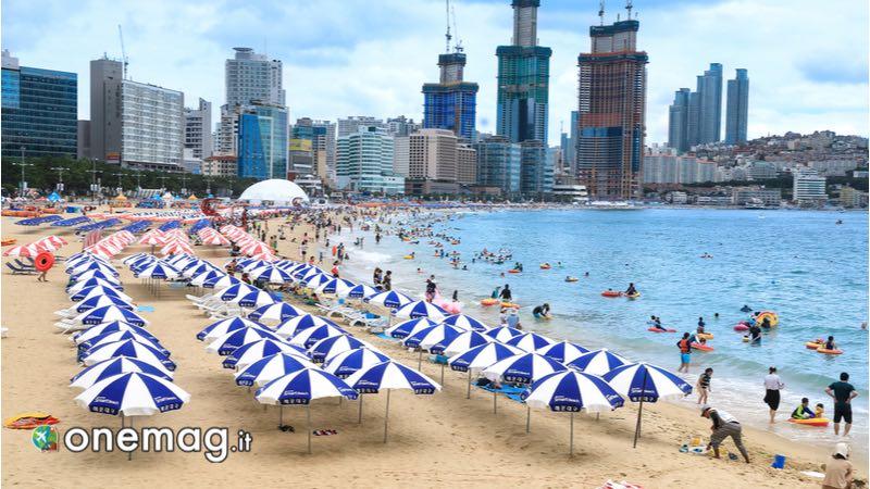 Haeundae, spiaggia di Busan