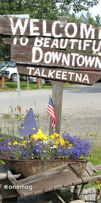 Talkeetna, cartello