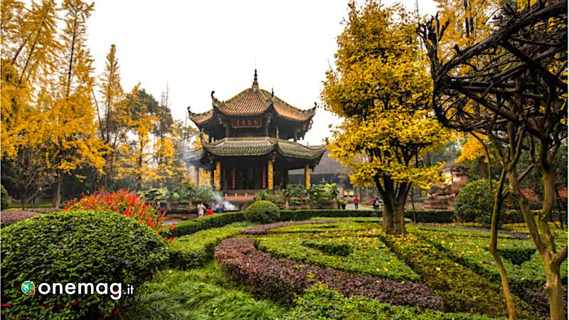 Chengdu, Palazzo Qingyang