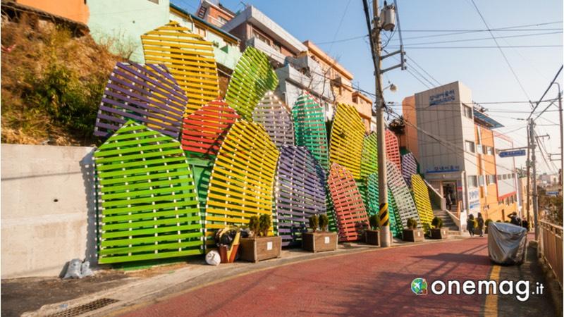 Gamcheon Culture Village, architettura
